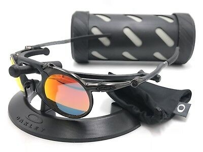 7ac804c7620 CLEARANCE OAKLEY  MADMAN 6019-04 DARK CARBON RUBY IRIDIUM POLARIZED ...