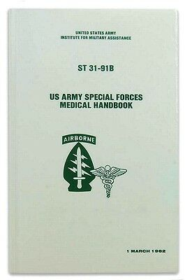 ST 31-91B Special Forces Medical Handbook on pdf, + Electronic Library