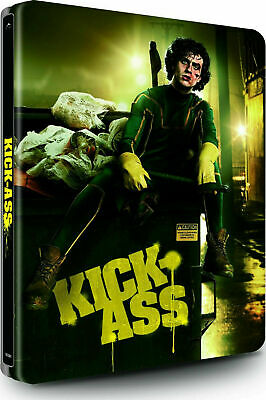 Kick-Ass - Limited Edition SteelBook  [Blu-ray + DVD] New and Sealed!!