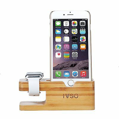 Apple Watch iWatch iPhone Charging Stand Docking Station Holder Organizer Rack