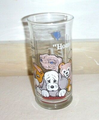 Vintage 1982 Pizza Hut ET Extra Terrestrial Drinking Glass Home Collector Promo