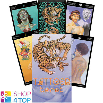 Tattoed Tarot Deck Cards Esoteric Fortune Telling Lo Scarabeo New