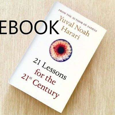 21 Lessons for the 21st Century Book by Yuval Noah Harari - eBook Email Delivery