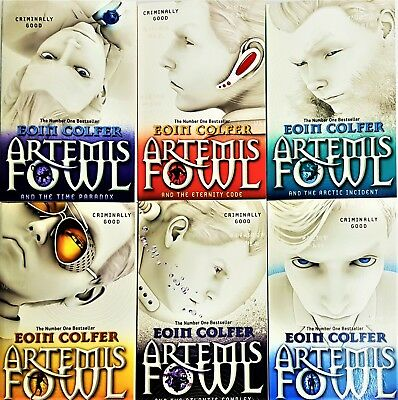 Artemis fowl 6 books collection Set Paperback by Eoin Colfer, Eternity Code-New