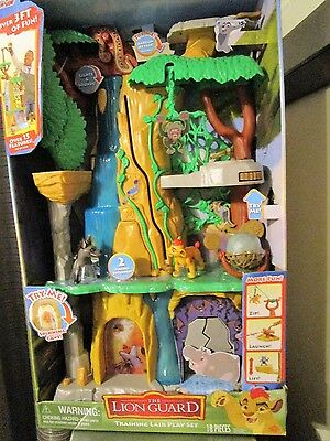 Disney Junior The Lion Guard Training Lair Play Set NEW IN BOX