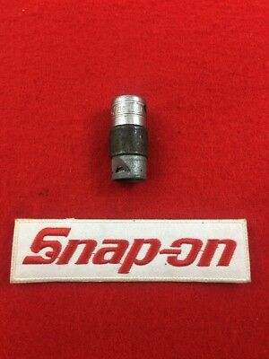 "Vintage Snap-On F-21-N 3/8"" Drive Spring Loaded Oil Pan Socket USA Made"