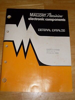 Mallory Precision electtronic components general catalog.