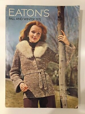Vintage 1975 Eaton's Fall And Winter Catalog