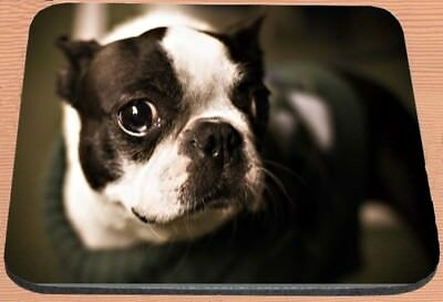 Boston Terrier Print Computer / Laptop Mouse Pad