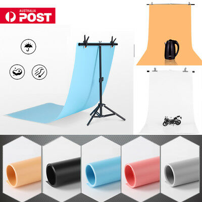 68*130cm Photography Lighting Background Studio Photo PVC Backdrop Screen AU