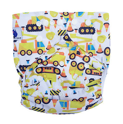 Junior XL Modern Cloth Nappy FREE Insert Baby Toddler upto 20kg - Construction