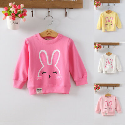 Toddler Girls Hoodies Tops Kids Girl T-shirt Baby Toddler Pullover Sweatshirts