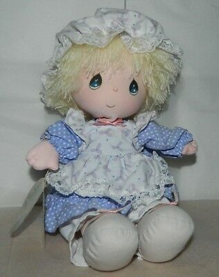 Collectible 1986 Precious Moments Musical Doll By Applause PATTY With Tag 4514