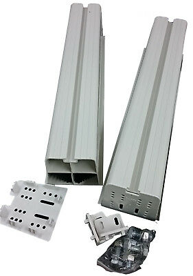 Aussie Duct Outdoor Unit Pvc 450Mm Mounting Block + Bolts Pdmbiv - Rf814