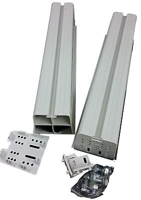 Aussie Duct Aircon Pvc 450Mm Mounting Block + Bolts Pdmbiv - Rf814