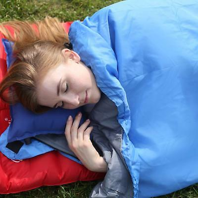 Sleeping Bag Ultra Light Weight 1.5lb with Compression Sack Trekking Hiking |HOT