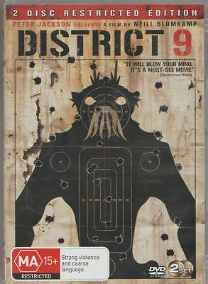 D.v.d Movie  X608    District 9 : 2 Disc Restricted Edition  Dvd