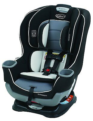 Graco Extend2Fit Convertible Car Seat, Gotham, One Size, New