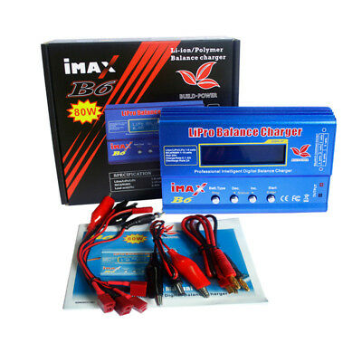 iMAX B6 B6AC LCD Screen RC Lipo NiMh Battery Balance Charger Multifunction