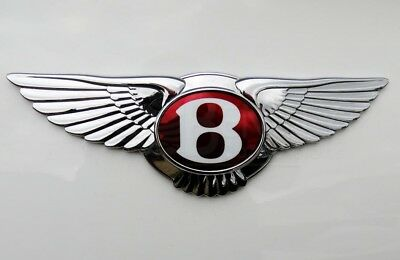 Bentley Continental Gt Gtc Front Grill Badge Emblem 12 - 14