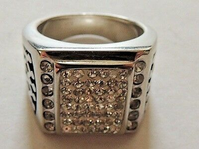 """Modern Classic 316L Top Grade Stainless Steel """"Royal Crown"""" Ring Size 9"""