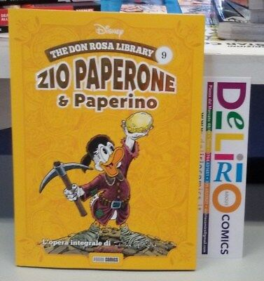 THE DON ROSA LIBRARY:ZIO PAPERONE E PAPERINO VOL.9 Ed. PANINI COMICS SCONTO 10%
