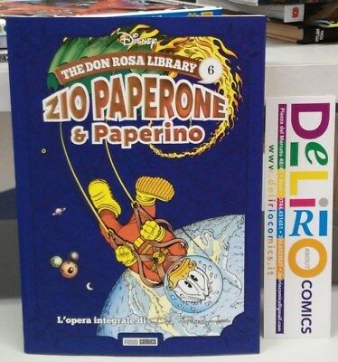 THE DON ROSA LIBRARY: ZIO PAPERONE E PAPERINO VOL.6 Ed. PANINI COMICS SCONTO 10%