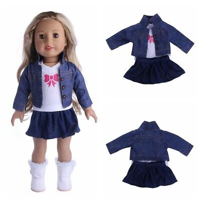 My Life Doll Our Generation Outfit Dress Jeans Clothes for 18' American Girl