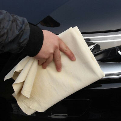 Natural Chamois Leather Car Cleaning Cloth Washing Suede Absorbent Towels Nice