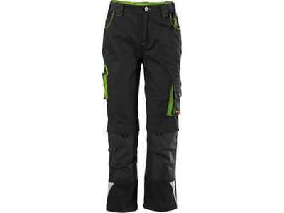 FORTIS Kids Bundhose 24 black-limegreen Gr. 98-104