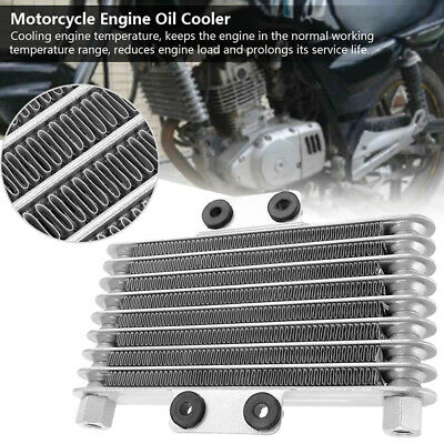 Universal Motorcycle Engine Oil Cooler Radiator Replace For 125-250CC Dirt Bike