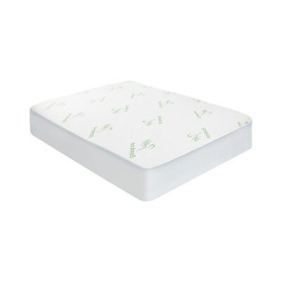 Giselle Bedding Bamboo Fiber Fully Fitted Waterproof Mattress Protector Single