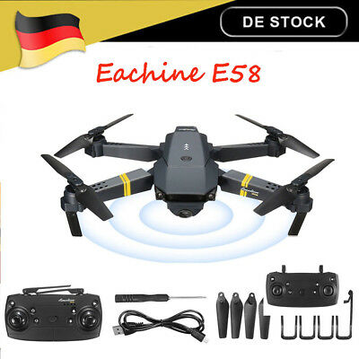 Eachine E58 WIFI FPV 2,4 G 4CH 6 Achsen 2MP HD Kamera RC Quadrocopter Drohne XC