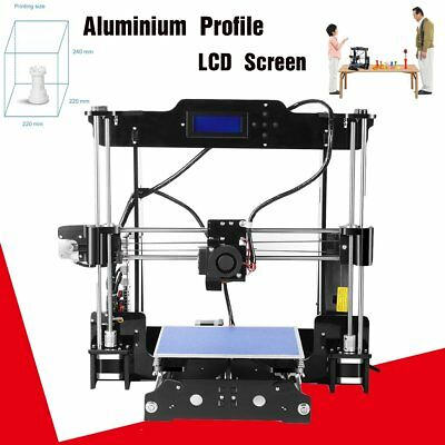 2017 UPGRADED ANET A8 Desktop 3D Printer Kits High Accuracy DIY MA