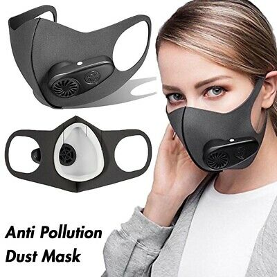 Anti Pollution Dust Mask with Electric Respirators Activated Carbon Filter PM2.5