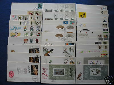 P.R.China.1982 Complete Year Set FDC
