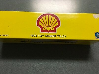 Shell 1998 Toy Tanker Truck By Equity Mkt. 3Rd. In Series.