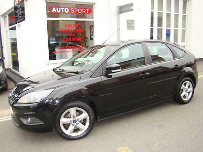 Ford Focus 1.6 Zetec Climate, 2010 with 80000 Mls, Superb Car in Black