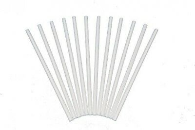 Poly-Dowels Plastic White Dowel Rods For Tiered Cake Construction, 12 Inch X Of