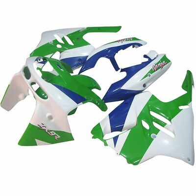 Fairing Bodywork Set For Kawasaki Ninja ZX-9R 1994 95 96 97 White&Green&Blue