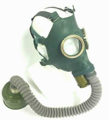 soviet gas mask GP-4 with filter 40mm gas mask with hose halloween mask scary