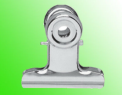 XS-PACK 3x MAUL Briefklemmer aus Metall, Farbe: nickel, Breite: 50 mm (62007893)