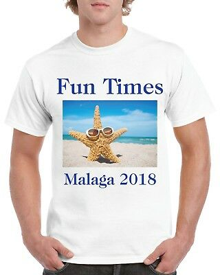 Personalised T-shirt Custom Photo Your Image Printed Stag Hen Party
