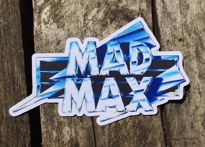 Mad max Sticker, Fanart.COMBINE POSTAGE ON ALL STICKERS IN STORE!