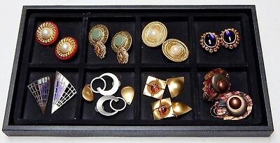 Nice Lot Of 94 Assorted Estate Jewelry Pieces: Rings, Bracelets, Earrings, More!