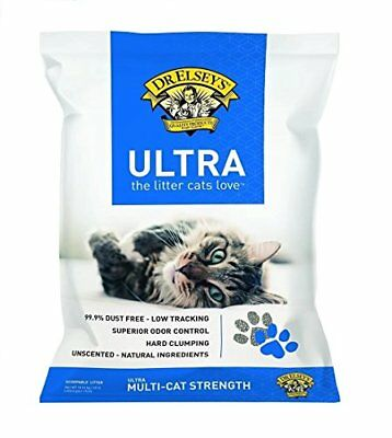 Dr. Elsey's Cat Ultra Premium Clumping Cat Litter 40 pound bag