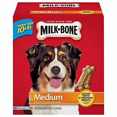Milk-Bone Original Dog Treats for Medium Dogs 10-Pound
