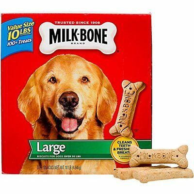 Milk-Bone Original Dog Treats for Large Dogs 10-Pound
