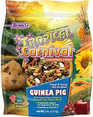 Tropical Carnival F.M. Brown's Guinea Pig Food 5-Pound