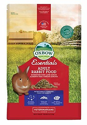 Oxbow Bunny Basics Adult Rabbit Food (Timothy Based) 5-Pound Bag